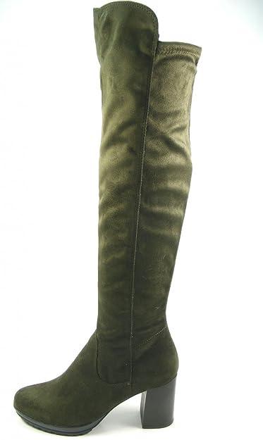 Tamaris - Damen - 25589 - Stiefel - grün 5rsN8mz