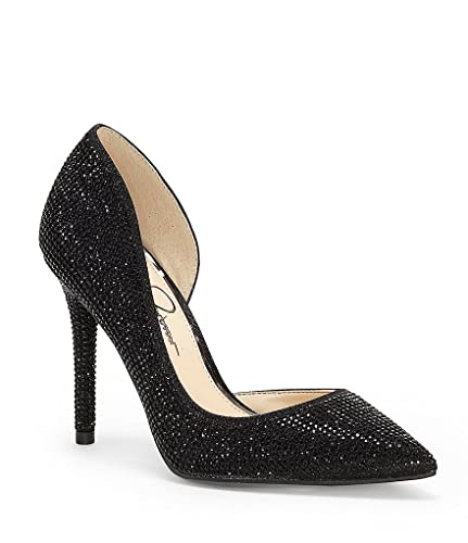 Lucina3 Rhinestone d'Orsay Pumps