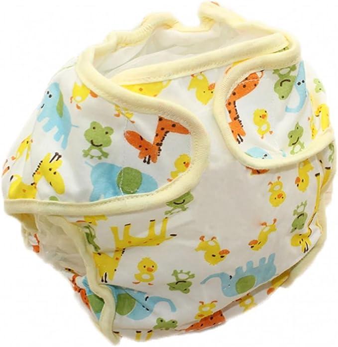 Desconocido angel3292 - Pañales de algodón Reutilizables para bebé ...