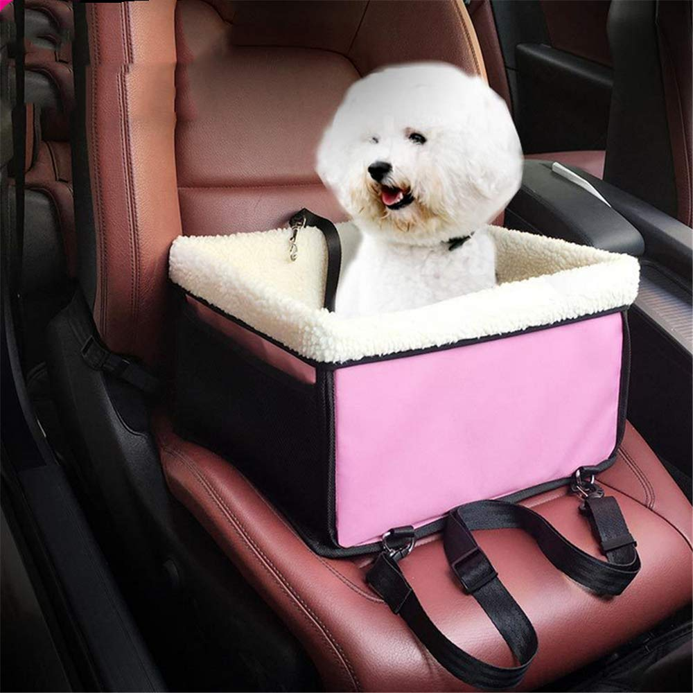 QZQWANA Non-Slip Pet Car Seat Cover Hammock Seat Predector With Seat Anchors For Cars Pet Travel Accessories Pet Carriers Mat
