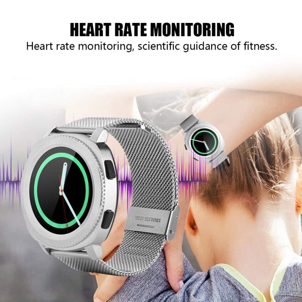 Amazon.com: Aramox Microwear L2 banda de acero Smartwatch ...