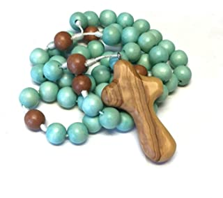 BC Inspirations Wooden Rosary