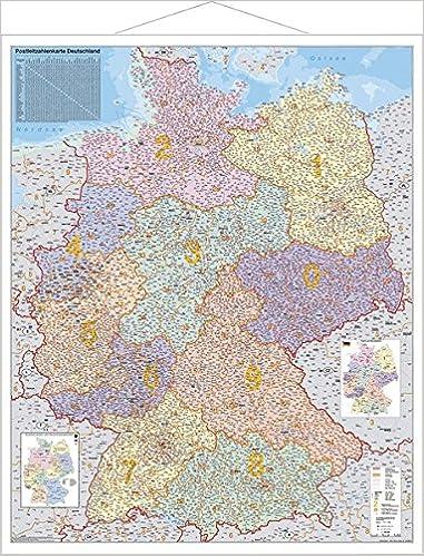 postleitzahlen karte deutschland Deutschland, Postleitzahlenkarte: 9783929627367: Amazon.com: Books