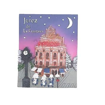 Amazon.com: 3D Jerez de la Frontera Spain Fridge Magnet ...
