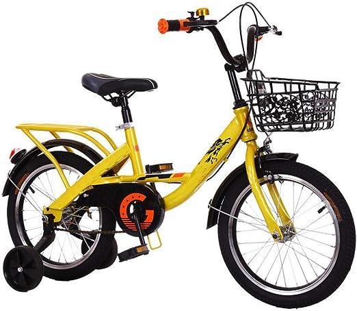 JBHURF Niños Plegables Bicicletas niños y niñas Cochecito de bebé ...