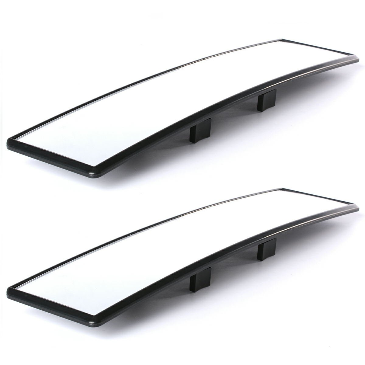 XCSOURCE Car Rear View Panoramic Wide Angle Mirror Clip On Interior 300mm MA164