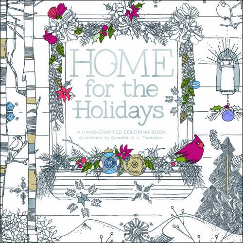 Home Holidays Hand Crafted Adult Coloring product image