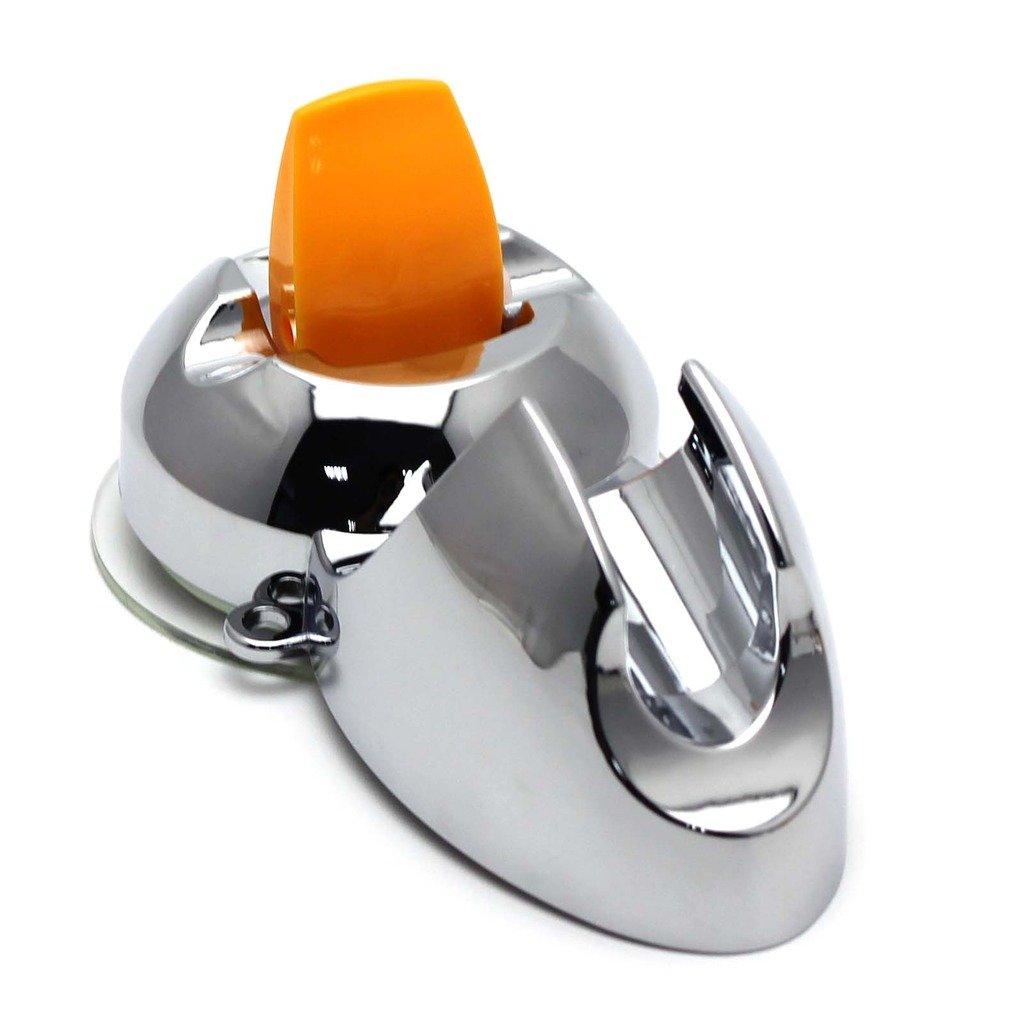 VANKER 1Pc Applied Hotel Bathroom Super Strong Sucker Shower Head Stand Bracket Holder