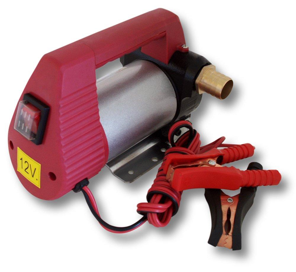 WilTec Pompe /à Fuel ou Gasoil bio Autoaspirante 12V//160W 40l//min Mobile