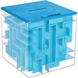 Money Maze Puzzle Box, Twister.CK Unique Money Gift Holder Box, Fun Maze Puzzle Games for Kids and Adult Birthday