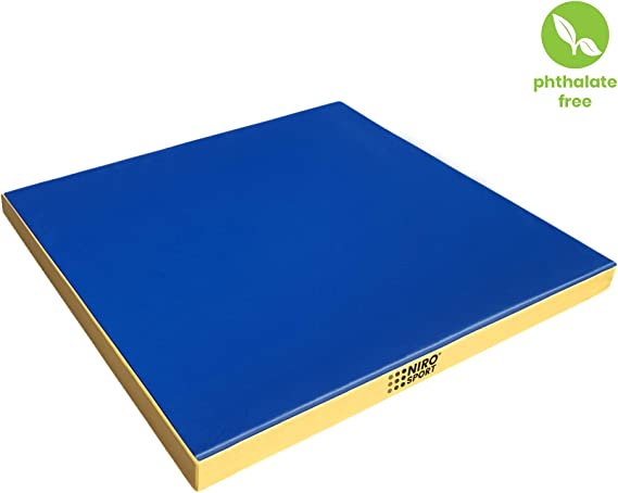 NiroSport Weichbodenmatte 100 x 70 x 8 cm Turnmatte Gymnastikmatte Fitnessmatte