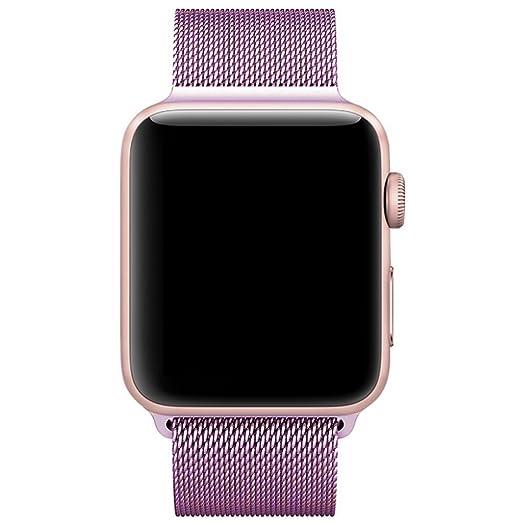 22 opinioni per Cinturino Apple Watch 42mm, con Unico Magnete di Blocco, VIKATech 42mm Apple