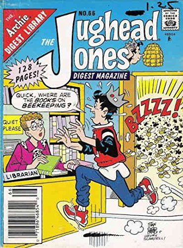 Jughead Jones Digest Magazine, The #66 VF ; Archie comic book (Jughead Jones)