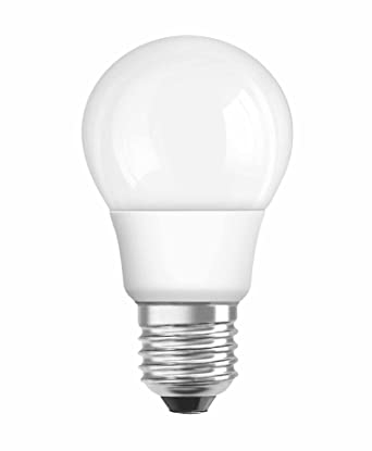 Osram LED STAR CLASSIC A Lámpara E27, 6 W, Blanco