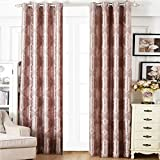 Hot Pink and Black Shower Curtain Lilybell Basement Window Curtains for Teens Girls 45 Inch Kitchen Patterned Thermal Shower Hot Pink Eclipse Small Blackout Curtains Bedroom for Women Kitchen Living Room Curtain Paisley (02 Pink 114)