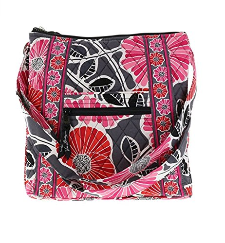 Cross-body Shoulder Bag in Cheery Blossoms ()