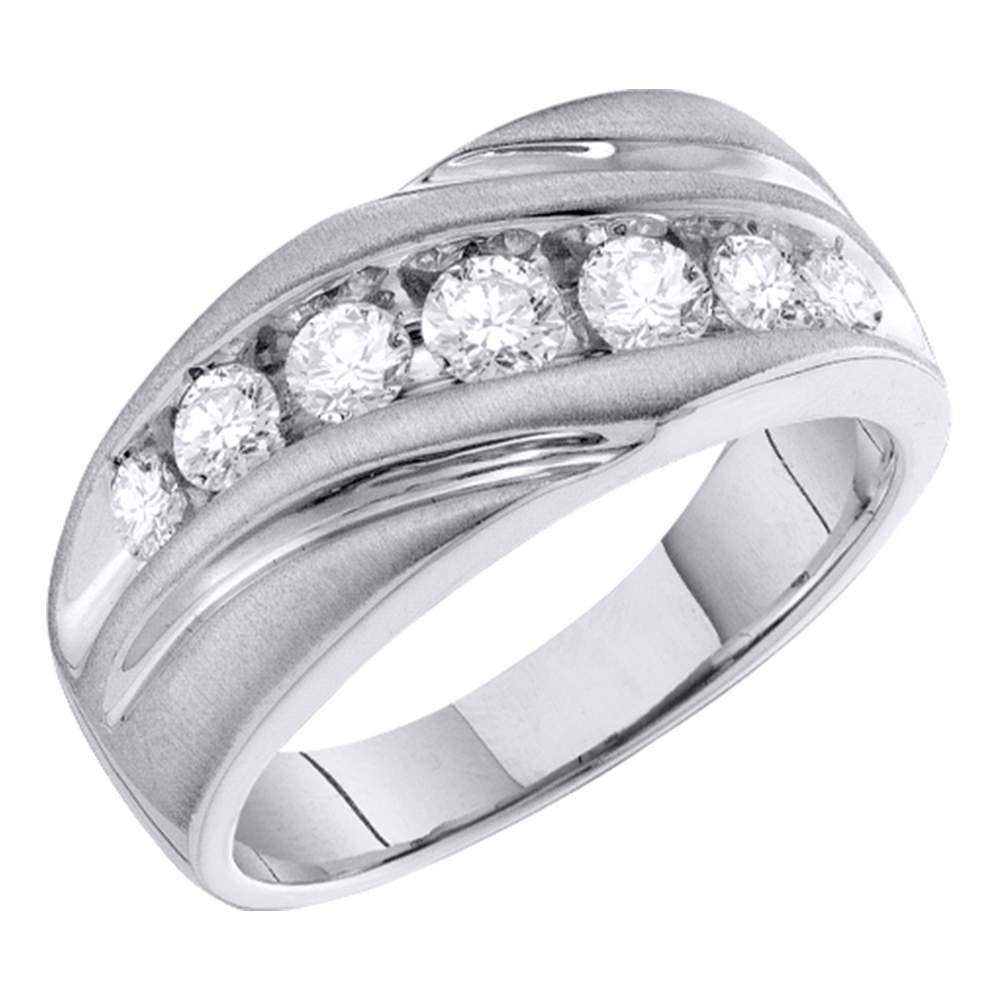 Jewels By Lux Juego de Canales de Oro Blanco para Hombre: Amazon ...