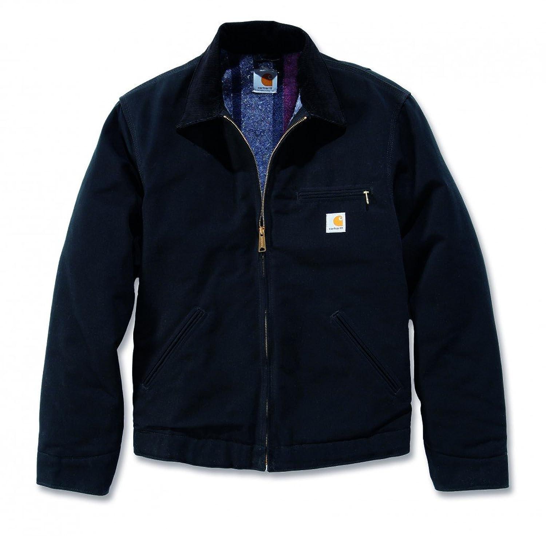 Carhartt Ej001 Mens Quilted Duck Detroit Leisure Work Wear Coat Jacket Top