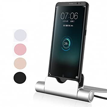 G-Hawk® Accessories compatible with Xiaomi Redmi Note 5/5 Pro Estación de carga del cargador Micro USB, Play Dock Micro USB Estación de carga de ...