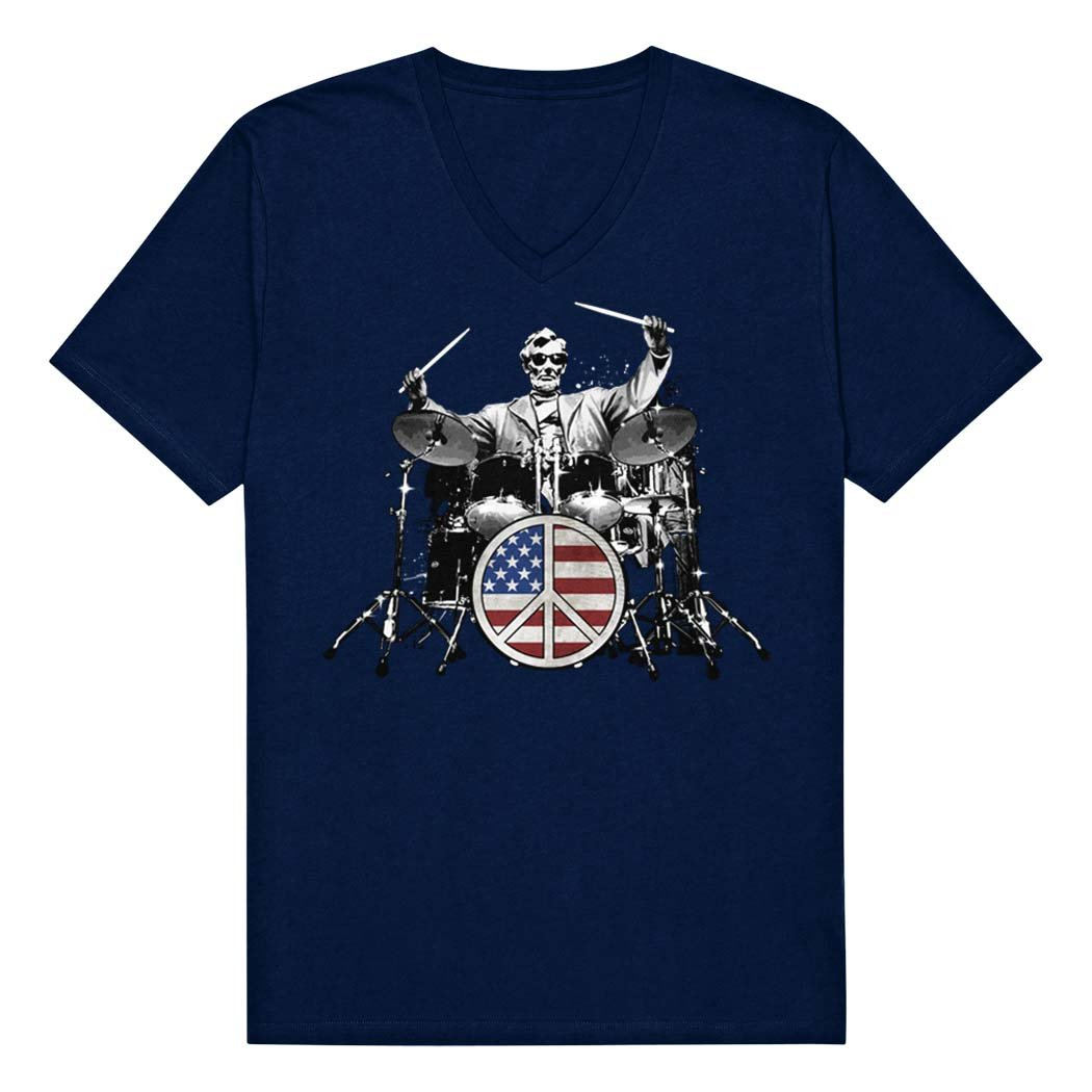 Rock And Roll Abraham Lincoln S T Shirt Apparel