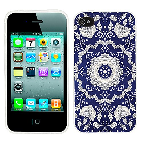 best cheap d5966 db17e iPhone 4s Case Cute,iPhone 4 Case for Girls,ChiChiC Full Protective Stylish  Case Slim Durable Soft TPU Cases Cover for iPhone 4 4g 4s,Silvery Henna ...