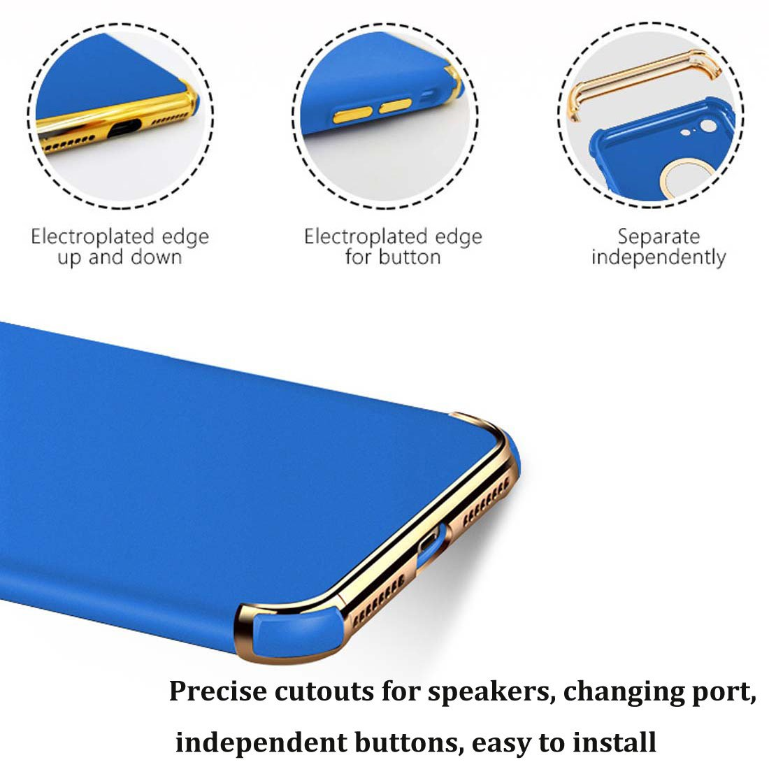 3 in 1 Electroplated Shockproof Elegant Phone Case Compatible with iPhone XR red Tverghvad iPhone XR Case 6.1 inch Ultra Thin Flexible Soft iPhone XR Slim Case