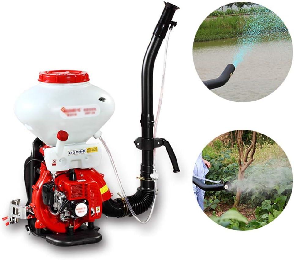 ASDFGHT Pulverizador de Mochila de 26 litros Pulverizador de Motor de Gasolina de 2 Tiempos / 41.5cc / para Campos de Cultivo/Jardín/Huertos (Size : 26 Liters)