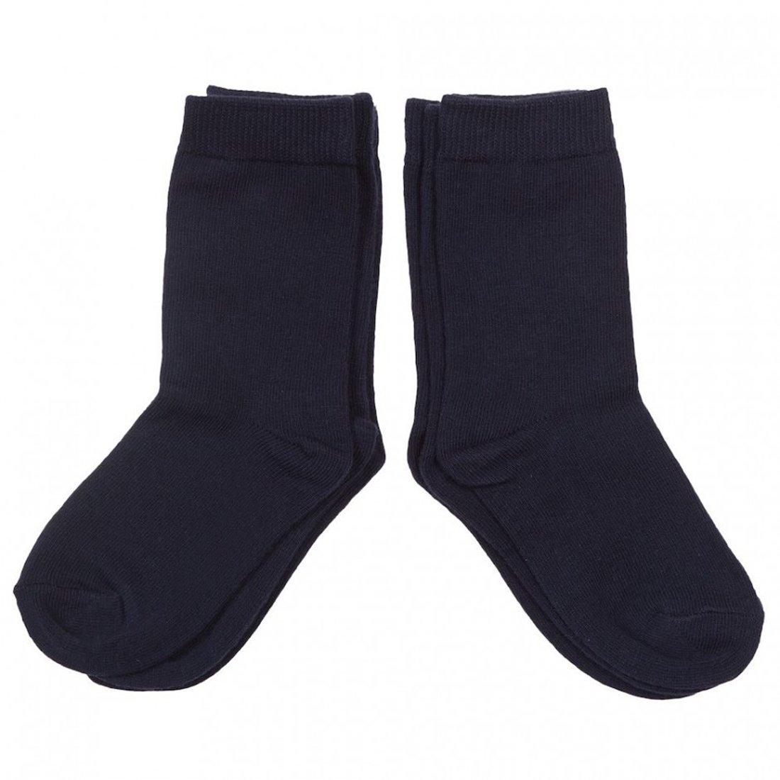 Best Calze 6 paia di calze corte bambini in cotone filo di scozia Mod. Unito Blue TG. 10 (34-36)