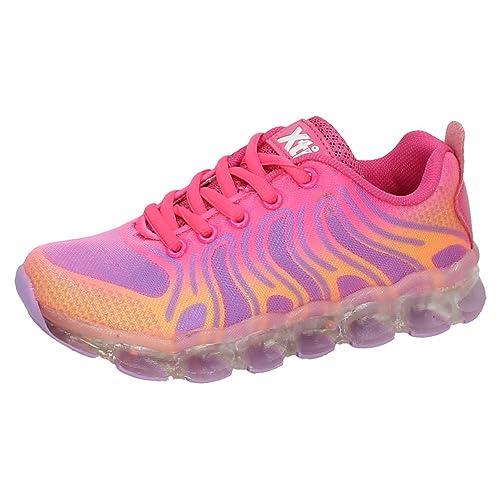 cec02f5f XTI 55353 Tenis con Luces XTI NIÑA Deportivos Fuxia 34: Amazon.es: Zapatos  y complementos