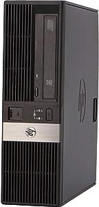 Refurbished HP RP5800 Desktop Computer Point of Sale POS - Intel Core i5-2400 3.1GHz, 8GB Ram, 1TB HDD, Windows 10 (Renewed)