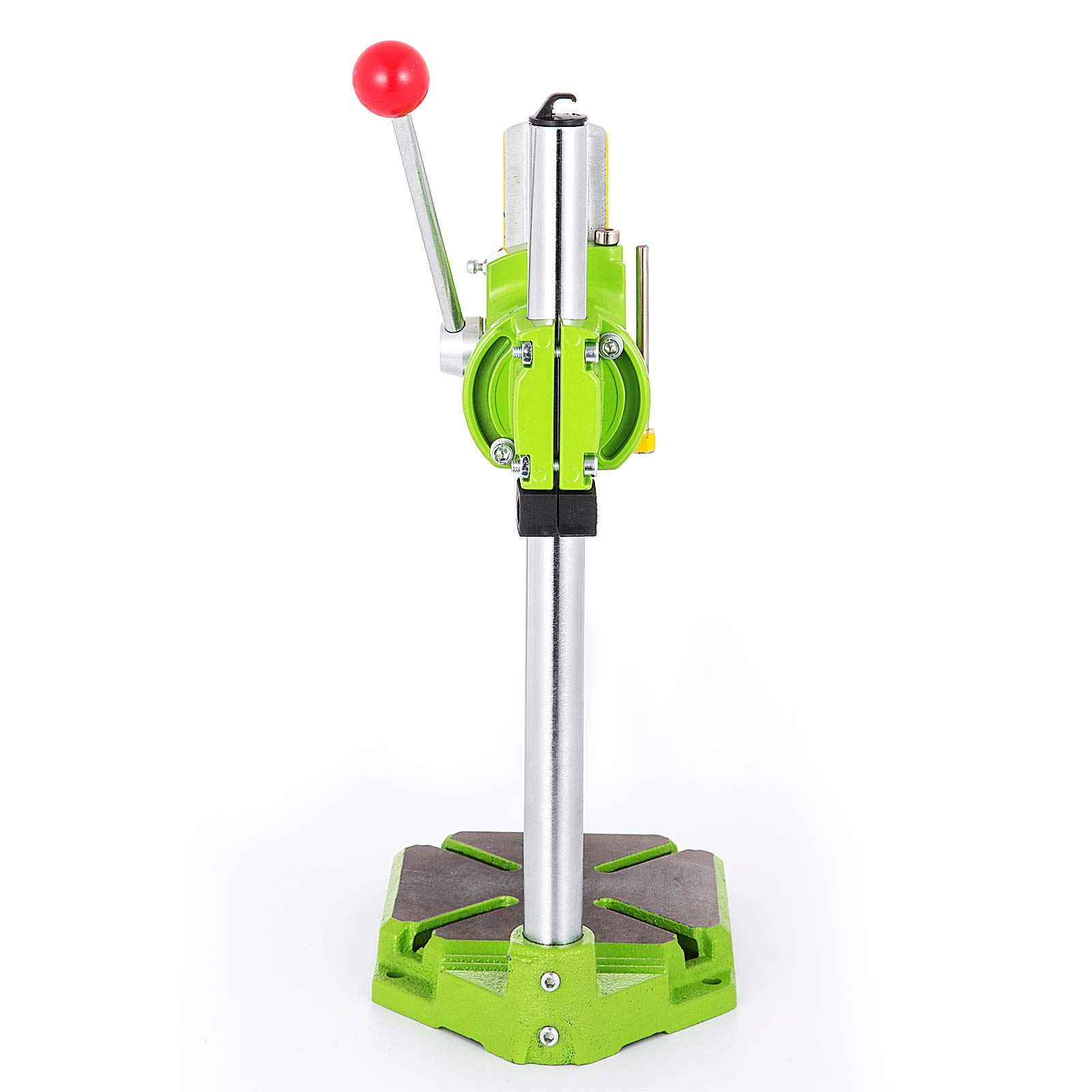 Happybuy Drill Press Stand 90 Degrees Rotary Drill Stand Holder 60mm Work Travel Repair Tool Clamp by Happybuy (Image #4)