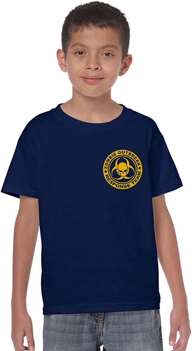 Zombie Outbreak Reponse Team Kids T-Shirt Childs Ages 3-13 Boys and Girls Tee