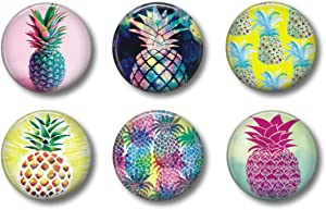 Pineapple Magnets - Cute Whiteboard Magnets for Office, Locker or Refrigerator