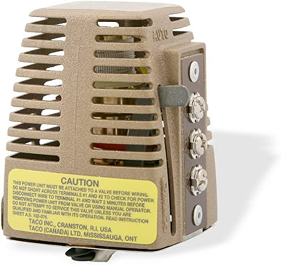 Amazon.com: Taco 555-050RP Zone Valve Power Head Replacement Part:  Industrial & ScientificAmazon.com