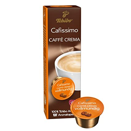 9170bc660e Tchibo Cafissimo Caffè Crema vollmundig Kapseln, 10 Stück: Amazon.de ...