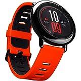 Smartwatch amazfit GPS amazfit deportes inteligente reloj Bluetooth WiFi Dual 512MB/4GB Heart Rate Monitor para iOS Xiaomi huami (Inglés Versión) rojo/negro por gshopper®