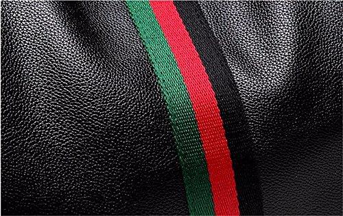 La La Hace Color Los Simple Modelos Femeninos Gris 27 JIUSHIGUANG Moda del De De Compras Ocio Color del Aire Manera Contrastan Cuero del 15 Al 25Cm PU Mochila Que del Libre La Bolsos wFqRnUzP