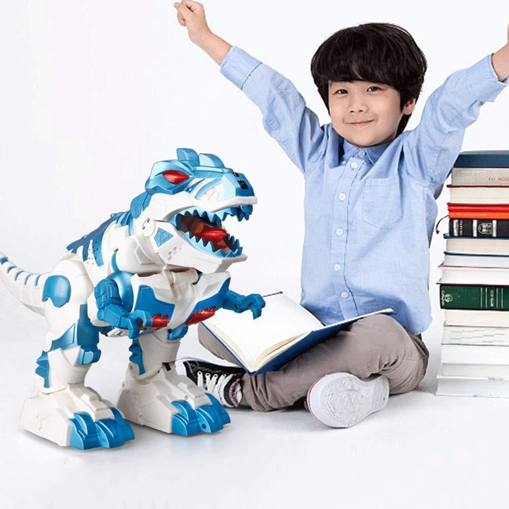 disfruta ahorrando 30-50% de descuento Mopoq Control remoto infantil Dinosaurio Juguete Simulación Simulación Simulación eléctrica Modelo animal Boy Inducción Deformación Robot Cantando y bailando Modo inglés Deslizándose Caminando Deformación Juguete Azul Rojo  mejor marca