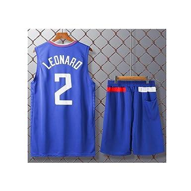 LJWLCH Jersey de Baloncesto para niños, No. 2 Kawhi Leonard Sports ...