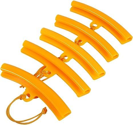 nouvelles images de chaussures exclusives site professionnel Keenso 5 Pcs Protection de Jante, Protège Bord de Roue Protecteurs de Pneu  pour Montage Démonte Pneus Moto Auto Vélo Outil Orange Jaune