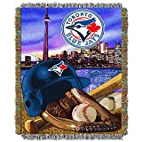 "The Northwest Company MLB Toronto Blue Jays Home Field Advantage Woven Tapestry Throw, 48"" x 60"