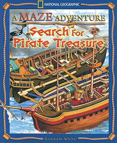 A Maze Adventure: Search for Pirate Treasure (Maze Adventures (Paperback))