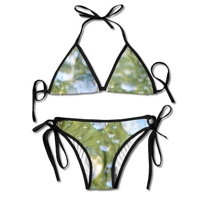 Amazon.com: Lotus Leaf Parachute Dew - Bikini sexy para ...