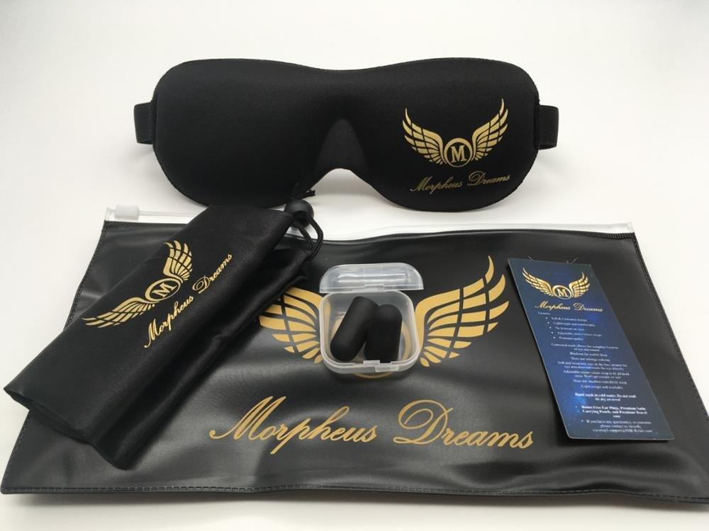 Morpheus Dreams Máscara de ojos, mejor cómodo dormir máscara ...