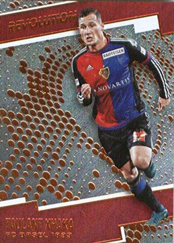 fan products of 2017 Panini Revolution #61 Taulant Xhaka FC Basel 1893 Soccer Card