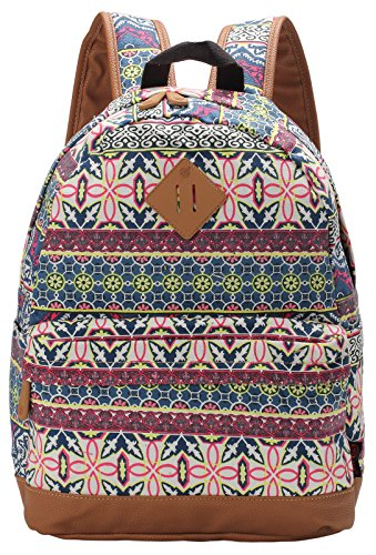 Veenajo Casual Backpack Daypack Laptop Backpack Cute School Bag for Teen - Shopping Guess Online Outlet