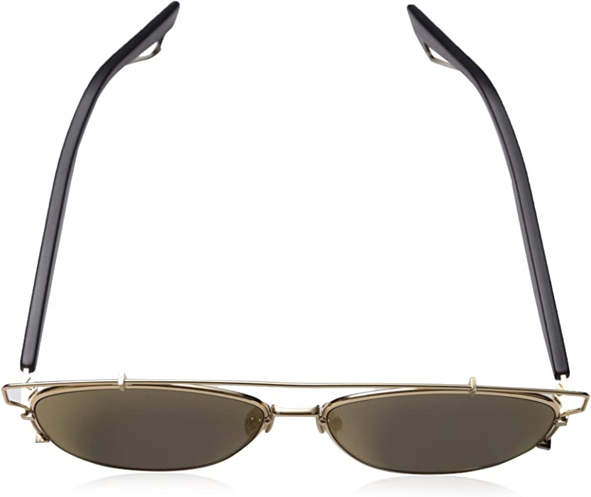 10a7c6662758 Christian Dior Technologic Sunglasses Gold Aviator. Back. Double-tap to zoom