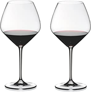 Riedel Heart Wine Glass, 27-1/8-ounce, Clear