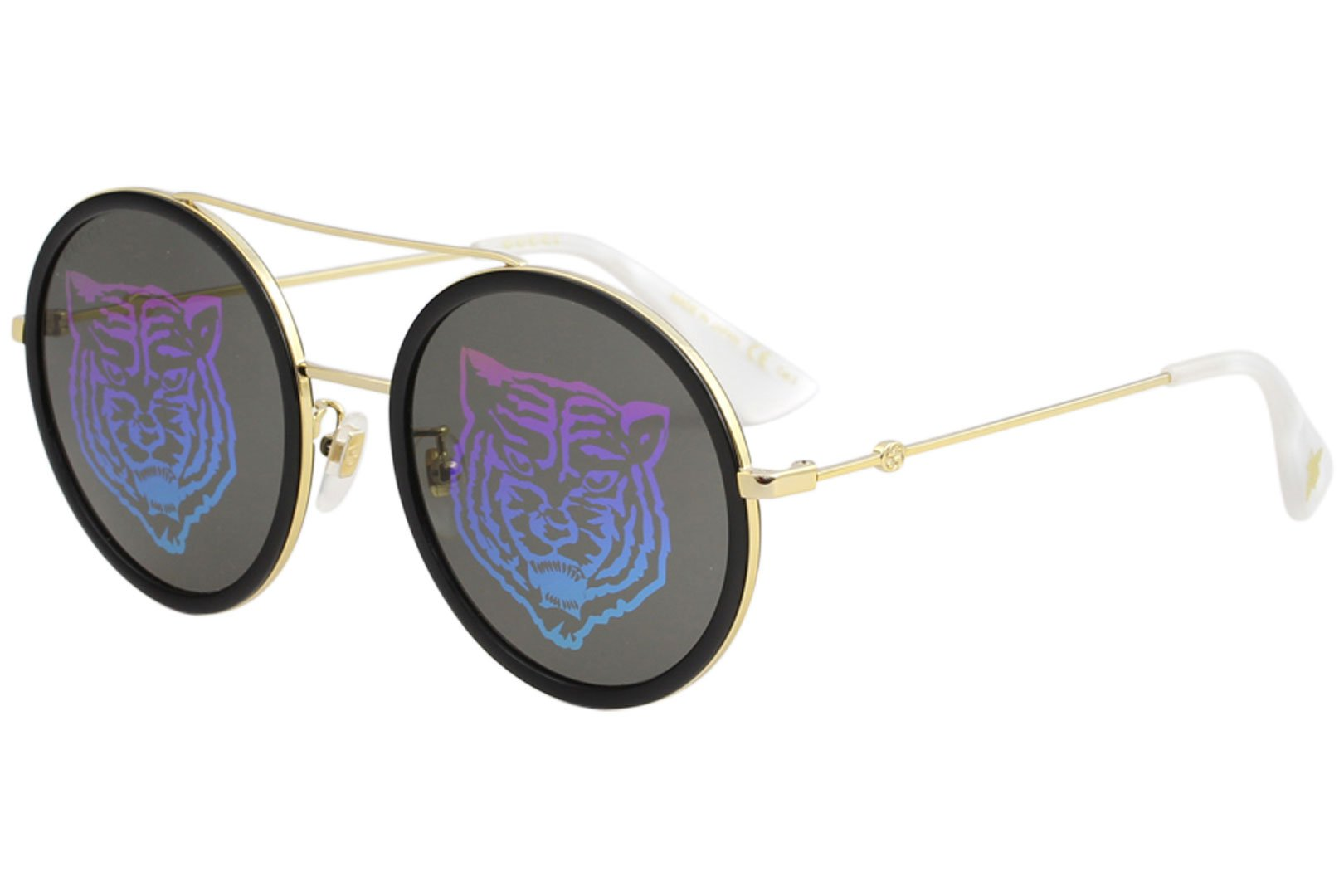 2368b2a270b Sunglasses Gucci GG 0061 S- 014 GOLD GREEN