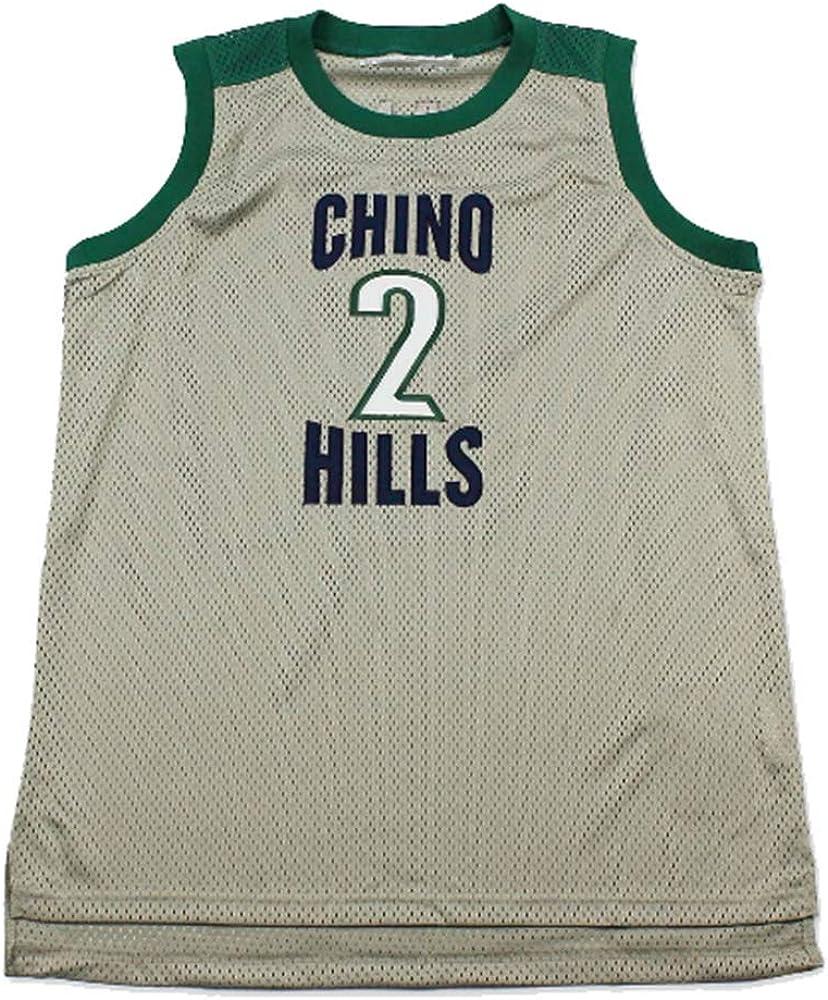 Amazon.com: Lonzo Ball Chino Navy Grey Custom High School ...